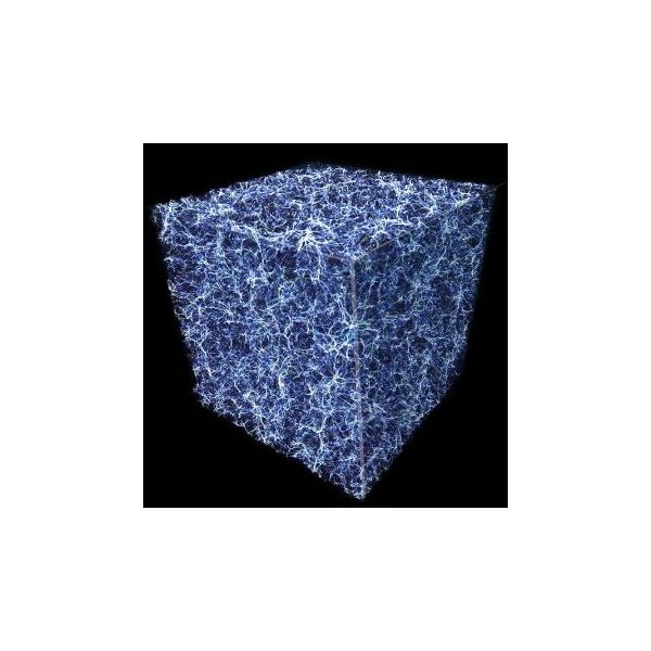 Dark Matter in the Space Between Galaxies is Evenly Distributed Throughout the Universe