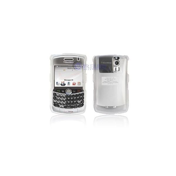 White Clear Hard protective bb curve case