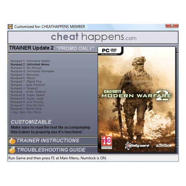 Call of Duty: Modern Warfare 2 Trainer