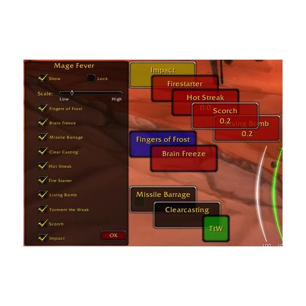 Mage Fever World of Warcraft Addon