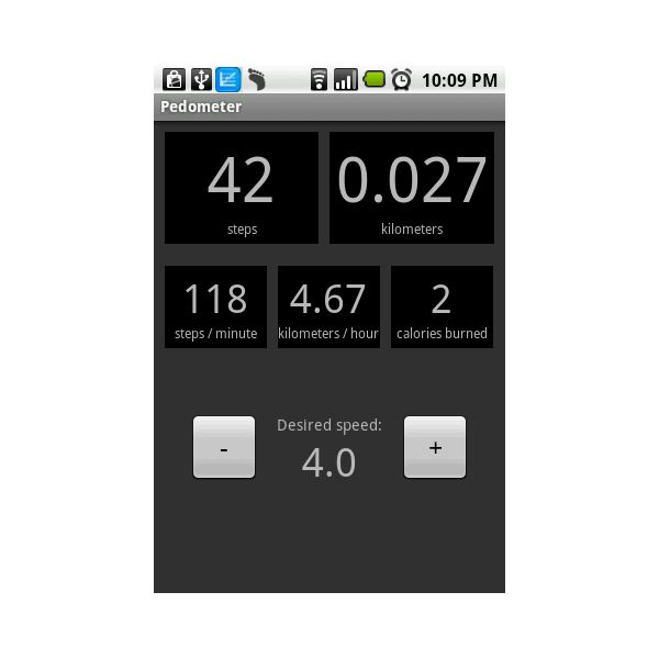 Pedometer Android App