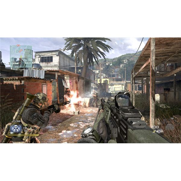 Modern Warfare 2 Multiplayer Favela Map
