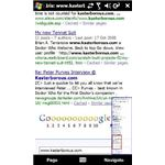 Google search rendered by IRIS Browser