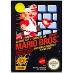 The original Mario Bros. game cover