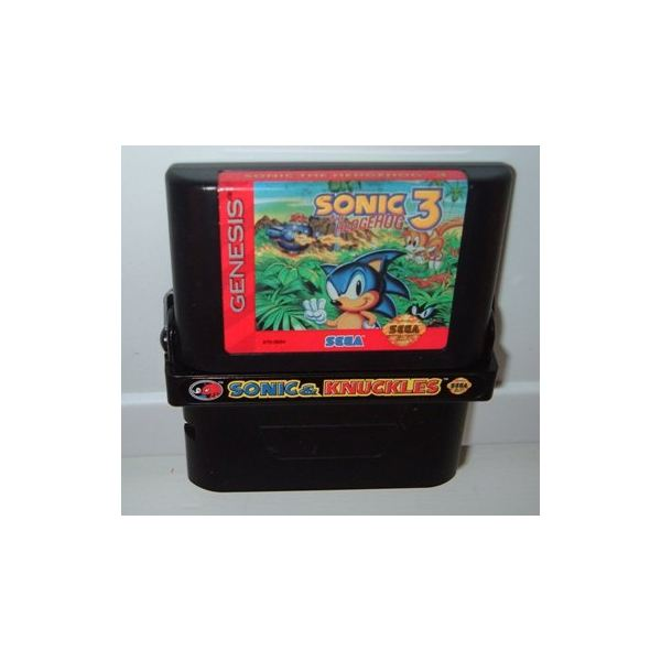 Sonic and Knuckles on the Virtual Console features the lock-on extras of the Genesis original.