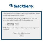BlackBerry Monitoring Service