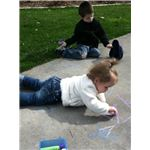Sidewalk chalk art Apr 2011 020