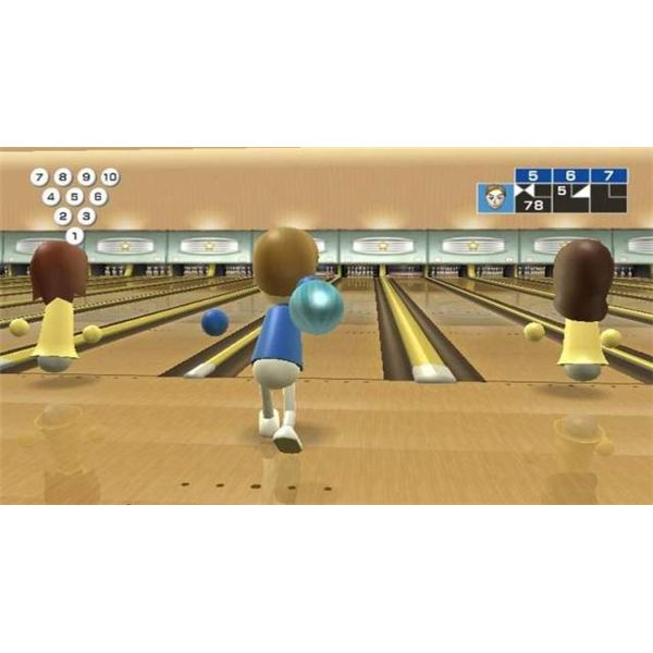 Wii Sports Bowling
