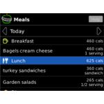Calorie Counter for BlackBerry by MyNetDiary BlackBerry App