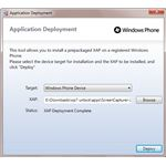 Sideloading a Homebrew App to Your Windows Phone