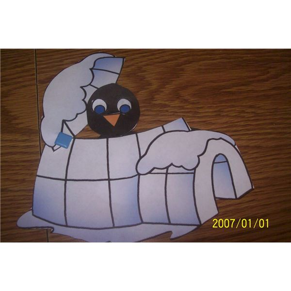 igloo and penguin 002