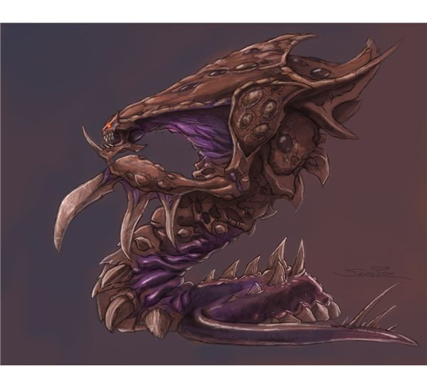 Assimilators the Zerg