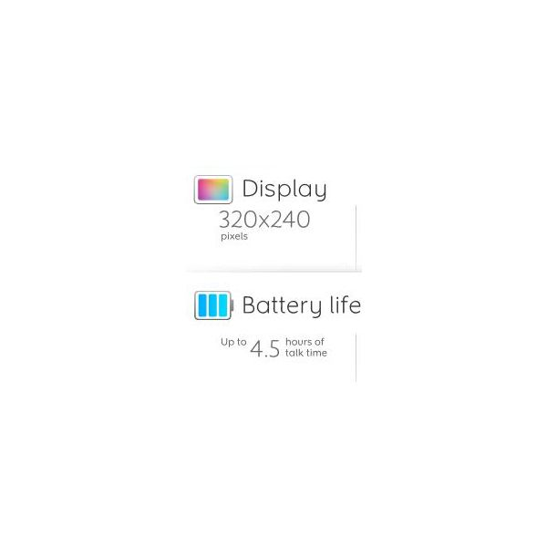 Display and Battery