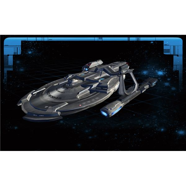 Fully Customized Miranda Class Ship