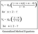 Generalized Method Equations