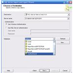 Import Excel To SQLServer 2008 choose destination