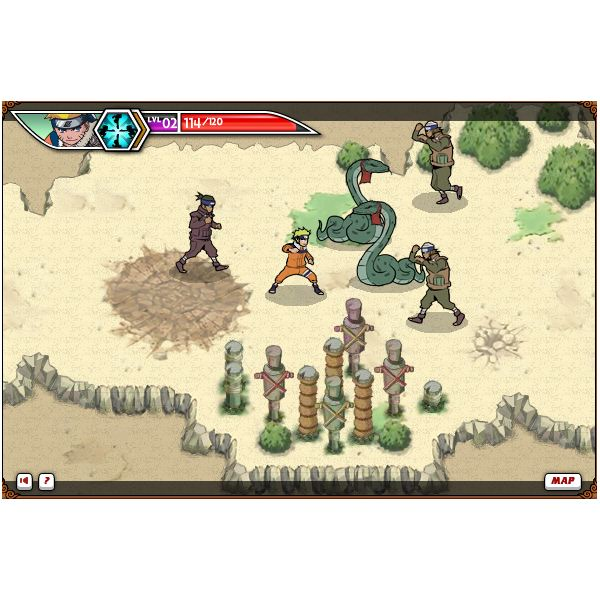 Naruto Battle for Leaf Village Screenshot 2
