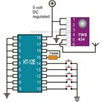 Car Immobilizer Transmitter Circuit Diagram, Image