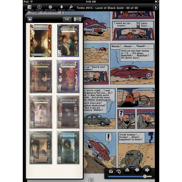 Finding The Best Comic Reader for iPad
