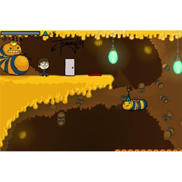 Fancy Pants Adventures 2 features more hidden areas and trophies than the first game.