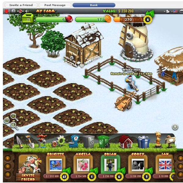 Games Like Farmville: Farmandia Review - 3D Facebook Farming