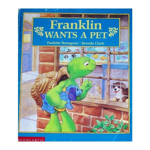 Teach kids about pets with Franklin the Turtle