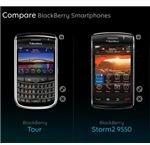 BlackBerry Tour Vs Storm 2