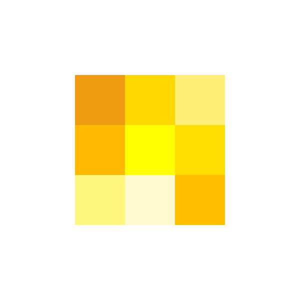 Color icon yellow