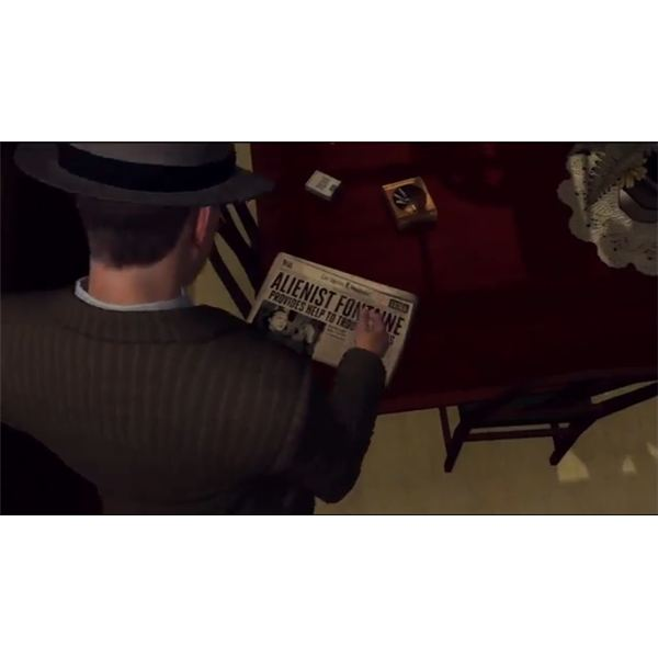 L.A. Noire Newspaper Locations