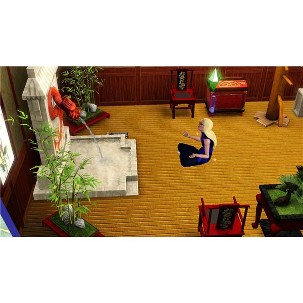 The Sims 3 Chinese Themed Decor