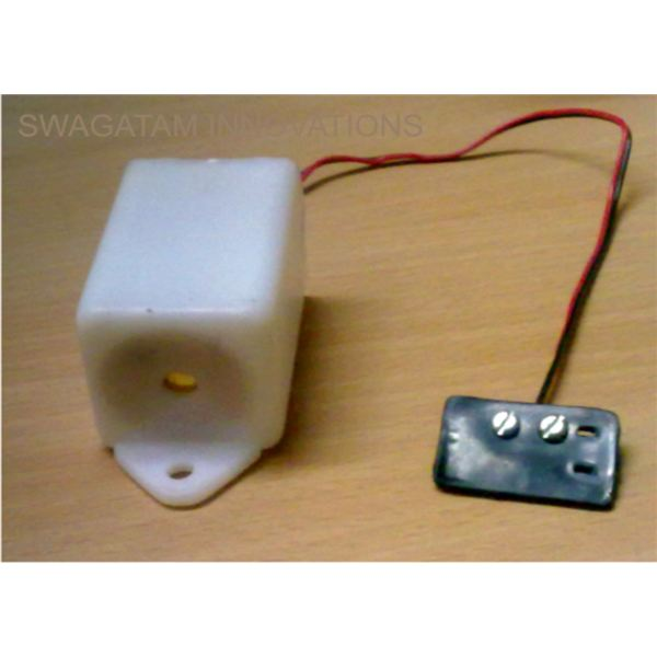 The Built Prototype of The Rain Sensor Unit, Image