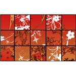 sunset tile by rache tenou