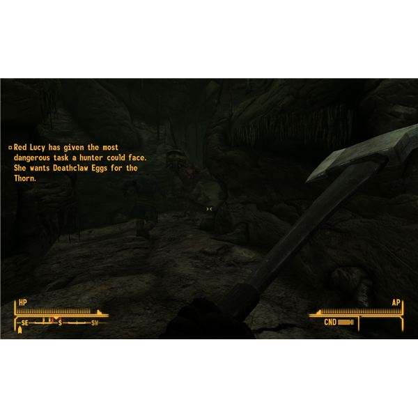 Fallout: New Vegas Walkthrough - Lily's Companion Quest - A Psychotic Lily is an Even Match for a Deathclaw
