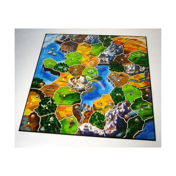 Five player board for Small World