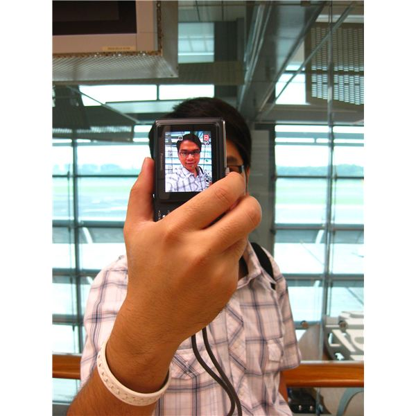Self Photo with Camera Phone