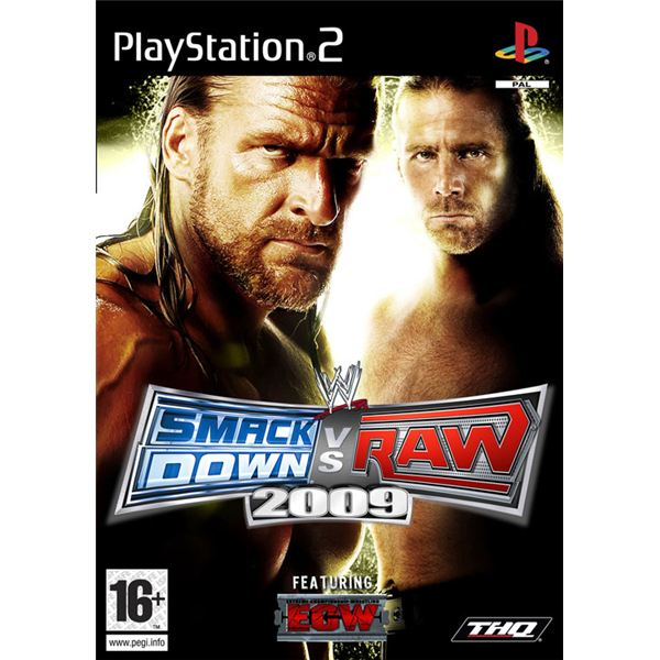 WWE SmackDown vs Raw 2009: One of the Best WWE Wrestling Video Games Ever to Grace the PS2 Console
