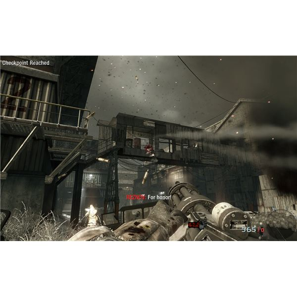 Call of Duty: Black Ops Walkthrough - Vorkuta - The Minigun