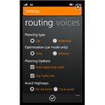 Configuring the Turn by Turn Navigation app