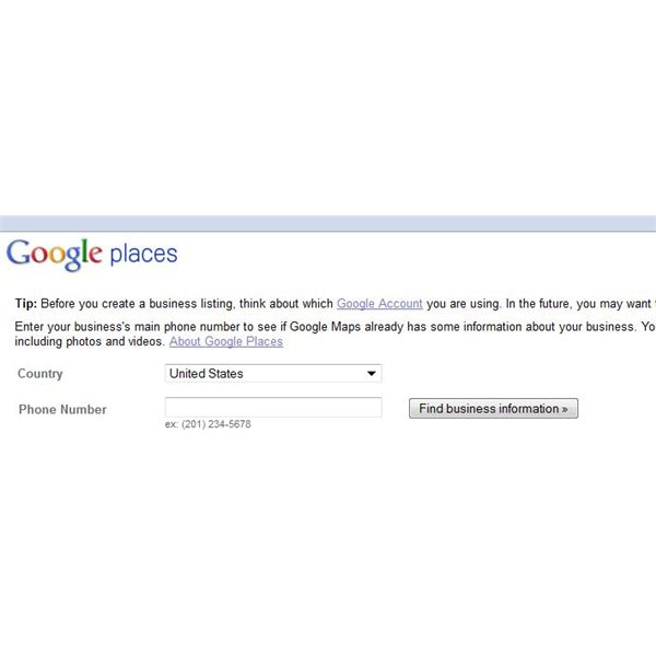 Search Using Your Phone Number