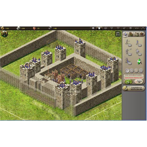 Stronghold Kingdoms Unit and Castle Guide