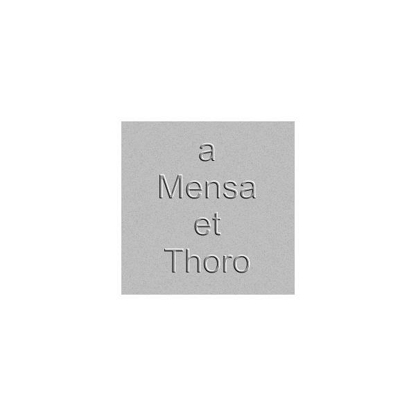Translate a Mensa et Thoro