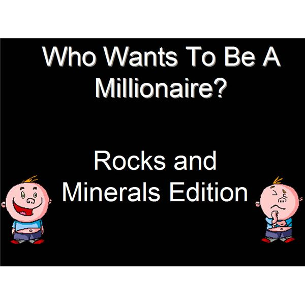 Interactive Whiteboard Games: Who Wants to be a Millionaire?
