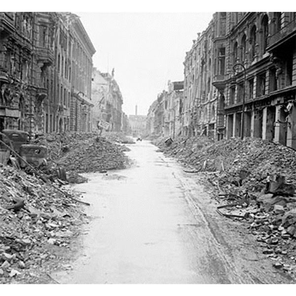 Destruction of Germany's Berlin