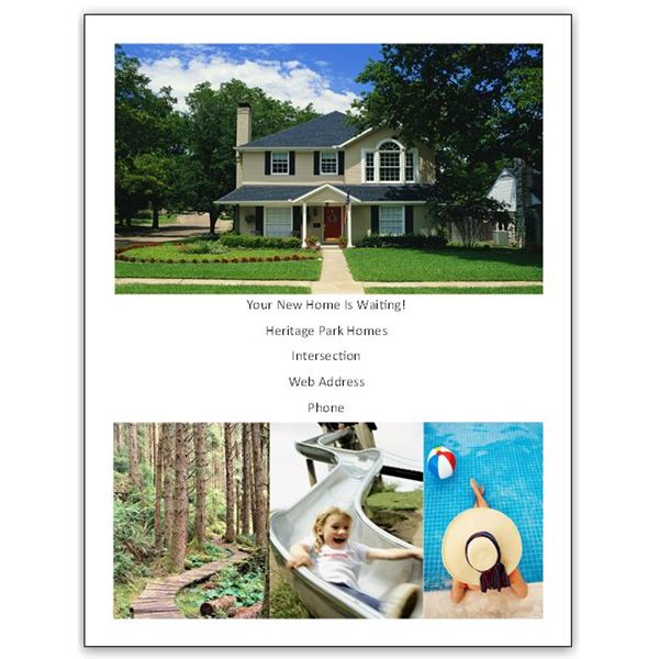 Real Estate Advertising Samples Aprilonthemarchco - Real estate ad templates