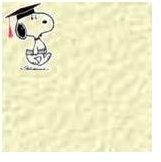 Snoopy graduation graphic