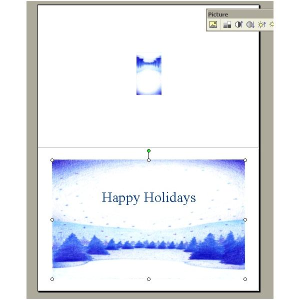 free holiday card templates holiday bsuiness cards word