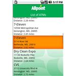 Allpoint Surcharge free ATM - Android app for free ATM machine