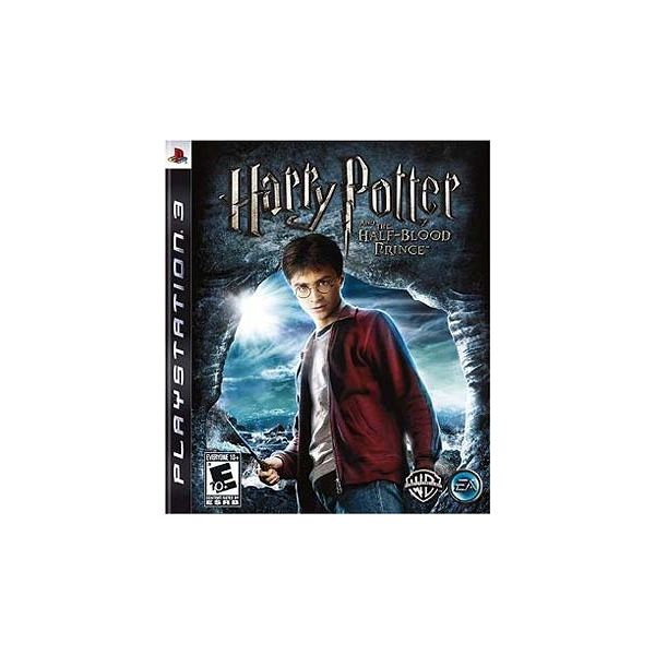 Harry Potter and the Half Blood Prince game boxshot