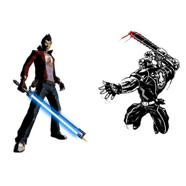 Travis Touchdown vs. Jack Cayman
