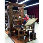 Gutenberg press was used in the 1400s